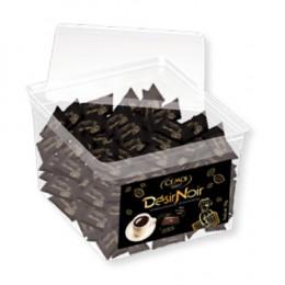 Tubo chocolat napolitains Cémoi Désir Noir - 200 pièces