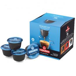 Capsule Dolce Gusto Compatible Café Espresso GustoPiu Brioso - 16 capsules - Covim