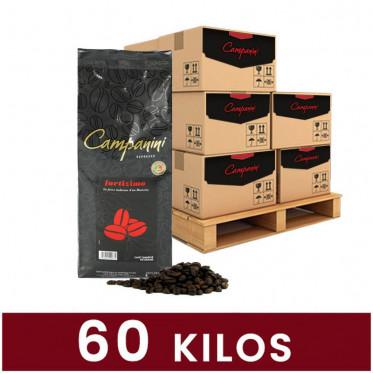 Café en Grains Campanini Fortizimo - 60 Kg