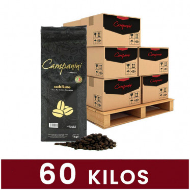 Café en Grains Campanini Sublimo - 60 Kg
