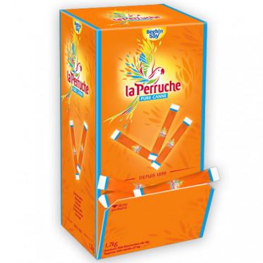 Bûchettes de sucre roux Béghin-Say La Perruche - 300 buchettes - 1,2 kg