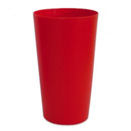 Gobelet réutilisable 25 cl - Rouge - par 10