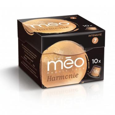 Capsule Nespresso Compatible Cafés Méo Harmonie - 10 capsules
