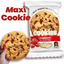 Maxi Cookie Cranberry avec farine de Maïs - Falcone