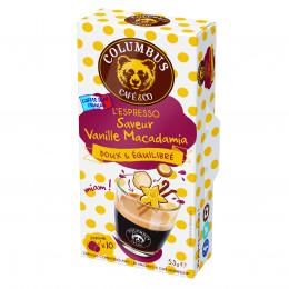 Capsule Nespresso Compatible Café Saveur Vanille Macadamia - Columbus Café - 10 capsules