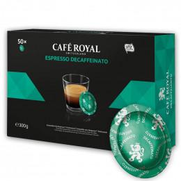 Capsule Nespresso PRO Compatible Café Royal Office Pads - Espresso Decaffeinato - 50 capsules