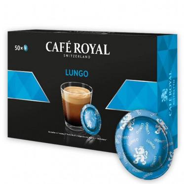 Capsule Nespresso PRO Compatible Café Royal Office Pads - Lungo - 50 capsules