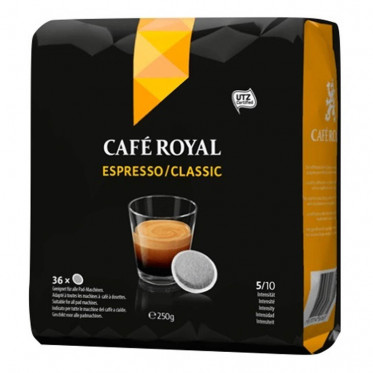 Dosette Souple Café Royal Espresso Classic - 36 pads