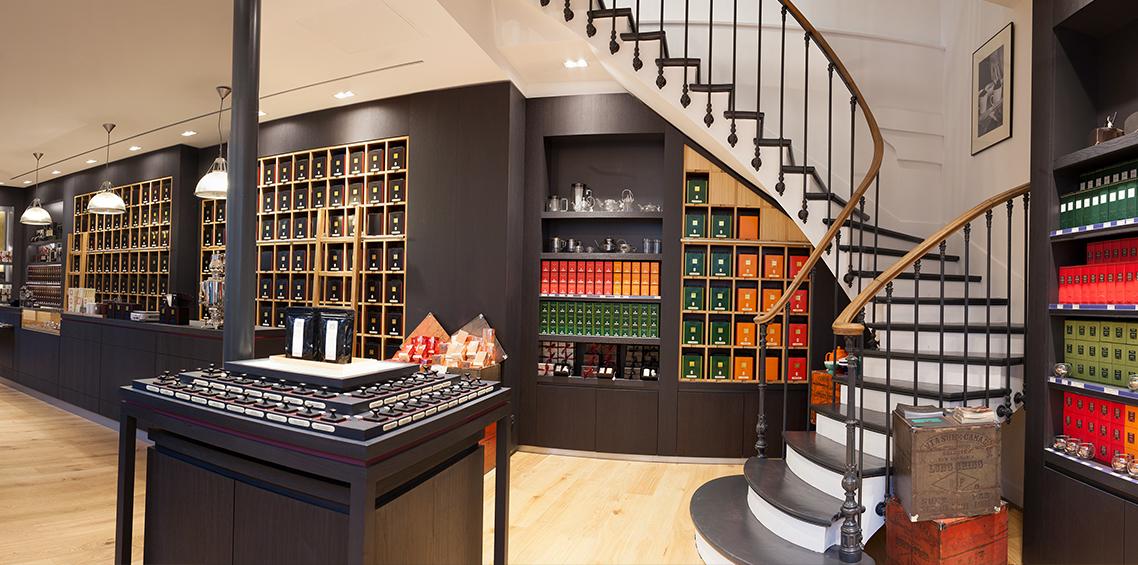 Boutique Dammann Frères à Paris