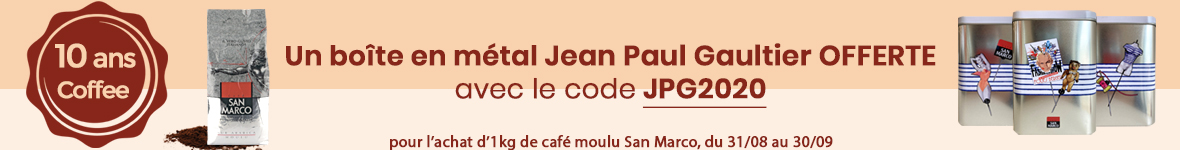 une boite en métal Jean Paul Gaultier