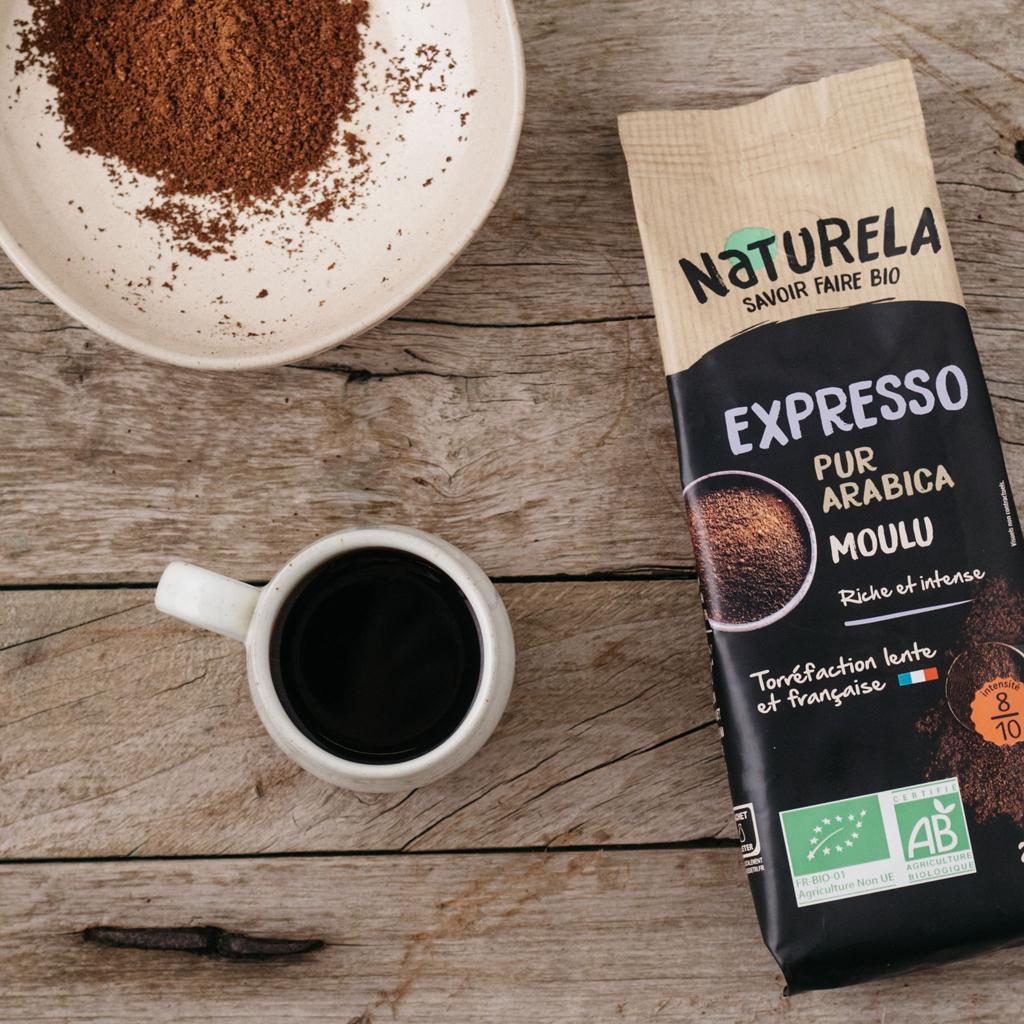 Café Moulu Naturela Expresso Bio Pur Arabica