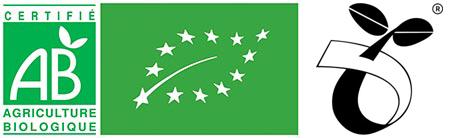 Logo Ab Bio ecocert et ok compost