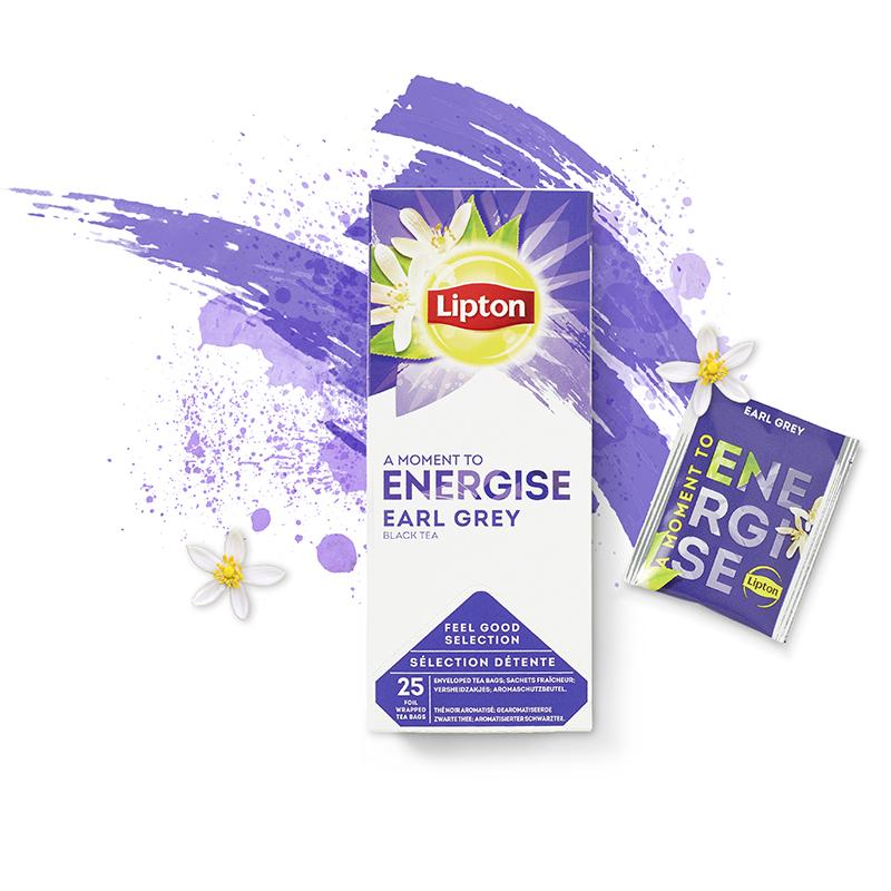 Lipton energise Earl Grey