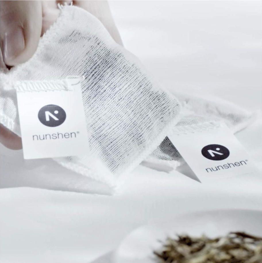 Sachet mousselin biodégradable