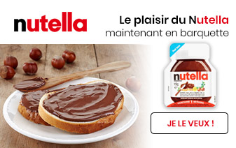 Nutella en portion
