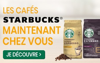Café en grains Starbucks