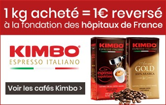 Café en grains Kimbo
