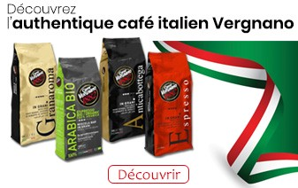 Café en grains Vergnano