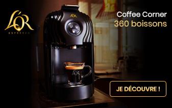 Machien à café Lucente L'or