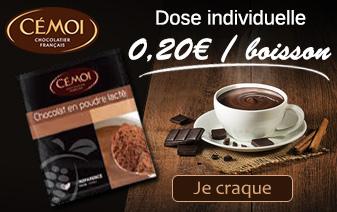 Chocolat Chaud Dosette Individuelle Cémoi