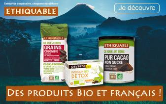 Découvrez notre nouvelle sélection de Cafés en grains et moulu labellisés Bio et Equitable avec les produits Ethiquable !