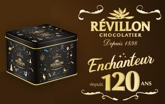 Boite Collector en métal Révillon : Assortiment de Chocolats