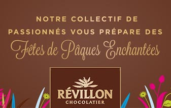 Chocolats de Pâques Révillon !